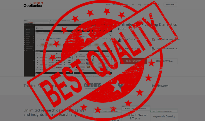 Best Quality / Price Ratio in the Market