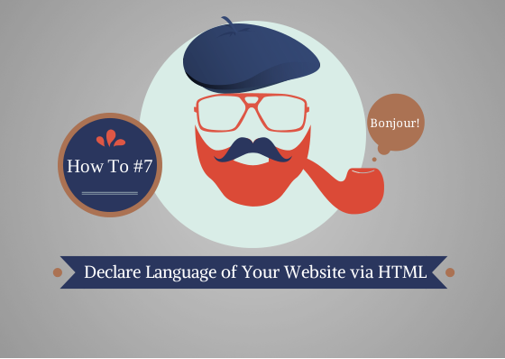 Declare the Language of Your Website via HTML