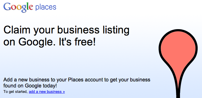 Register for Google Places