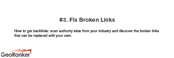 How to get valuable backlinks tip 3