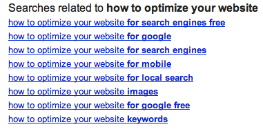 google-related-searches-how-to-optimize-website