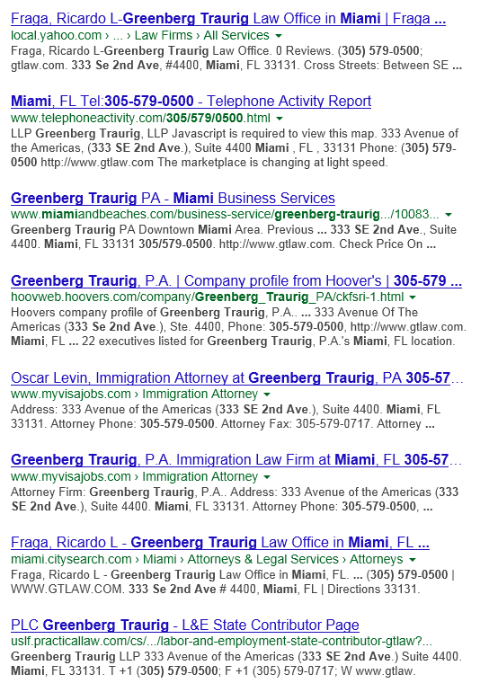 Local Seo citations list
