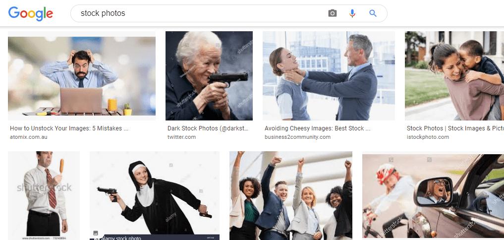 Google Images Size